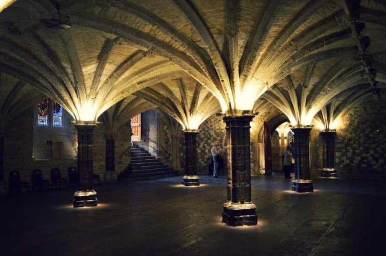 London Guildhall crypt