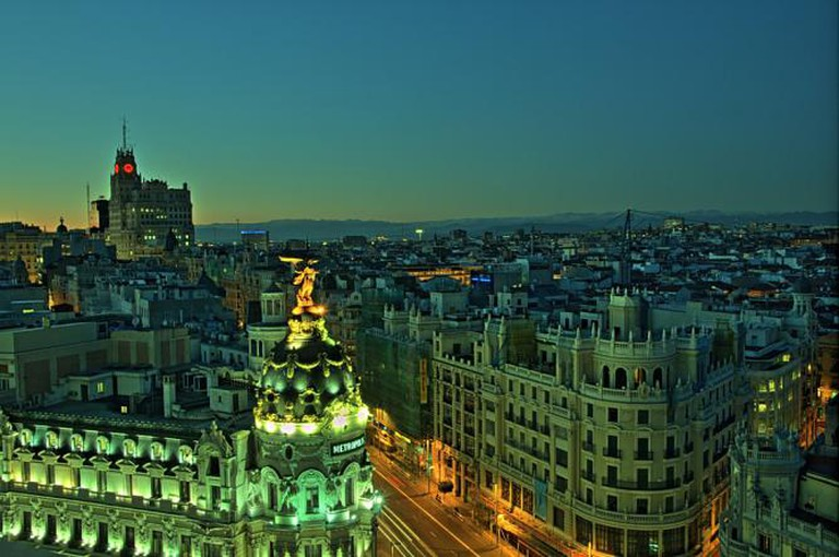 Gran Via, Madrid | © Felipe Gabaldón/Flickr