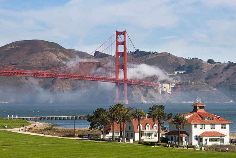 The Presidio and Golden Gate Bridge | © National Park Service
