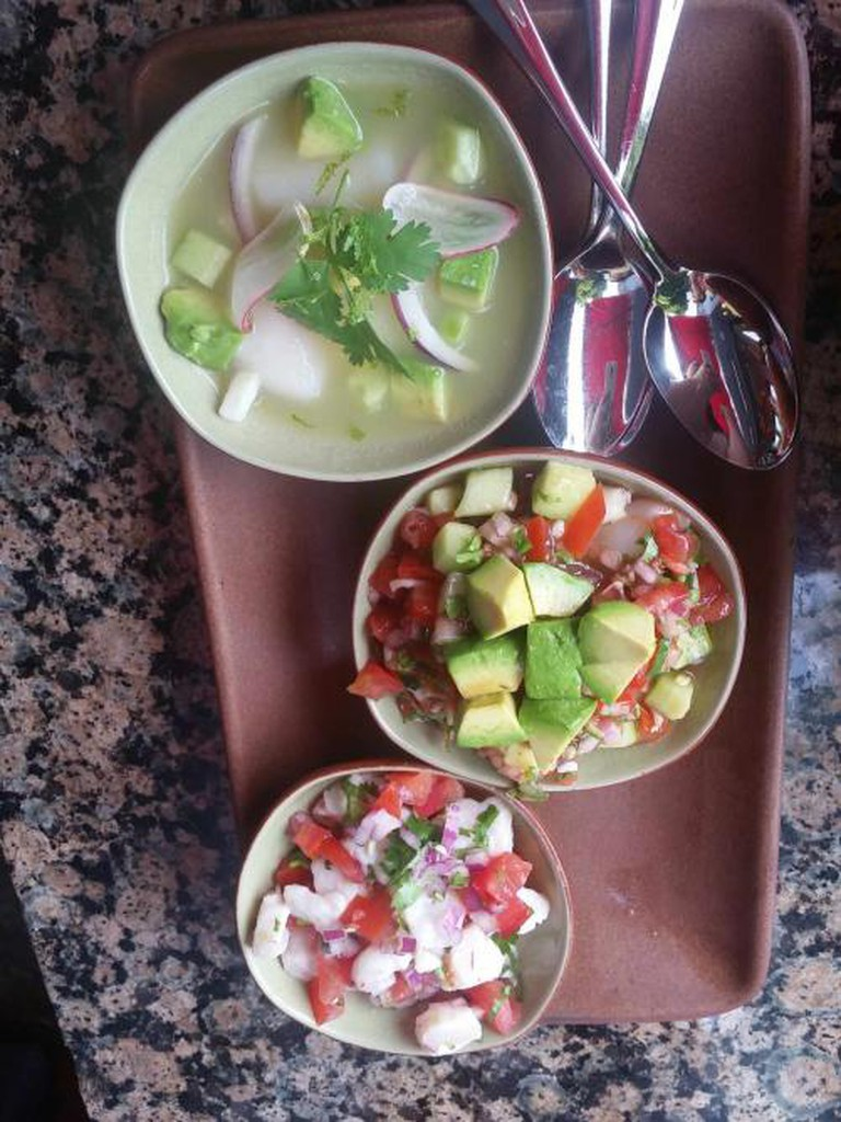 Ceviche Trio | Courtesy of Copita