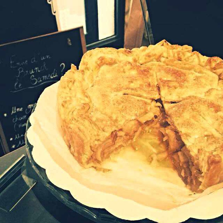 Fairview Coffee's Apple Pie | Courtesy of Fairview Coffee