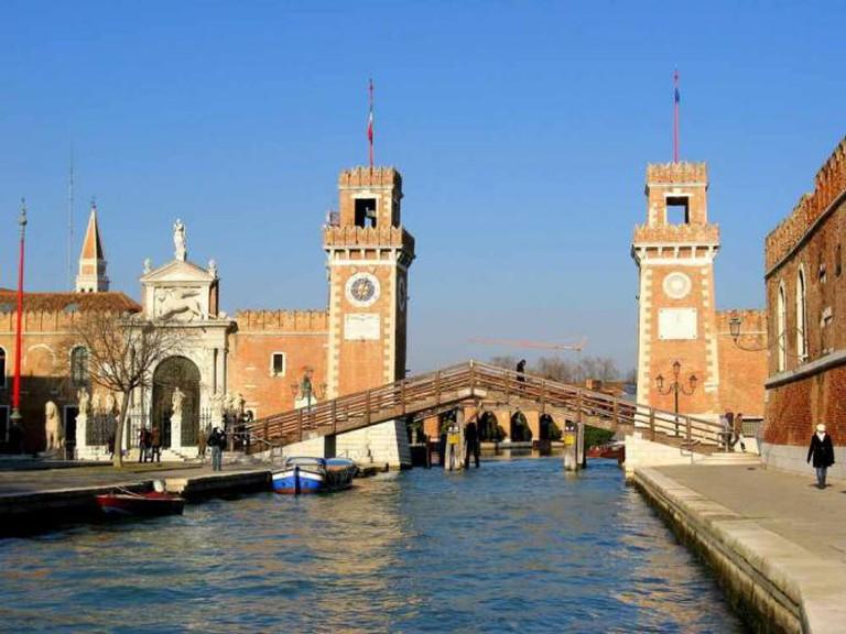 Arsenale di Venezia | © Anna Fox/Flickr