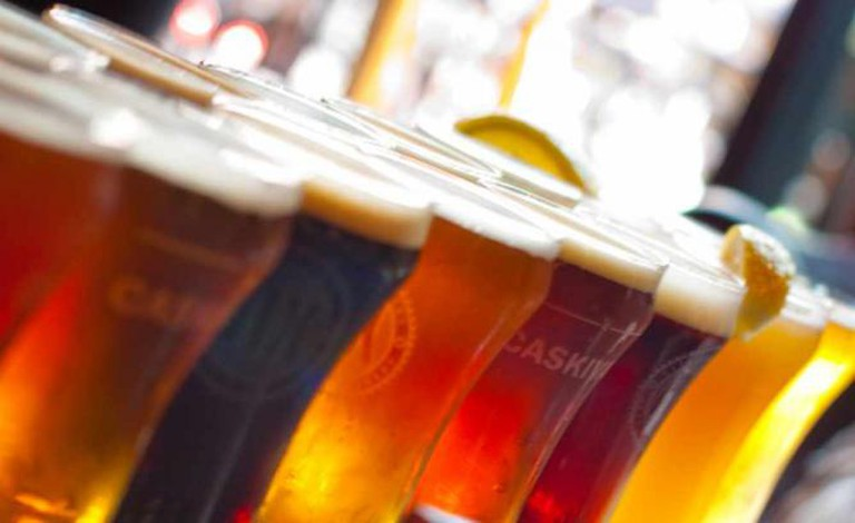 Flight of Beer @ Yaletown Pub | © Skye Chilton/Flickr