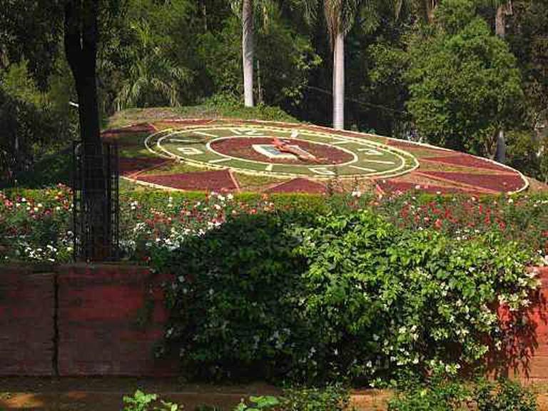Sayaji Baug Floral Clock