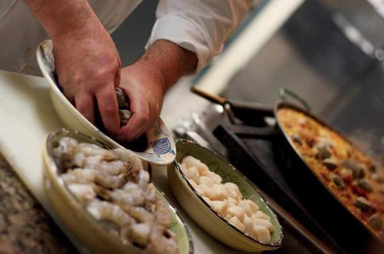 Preparing Seafood