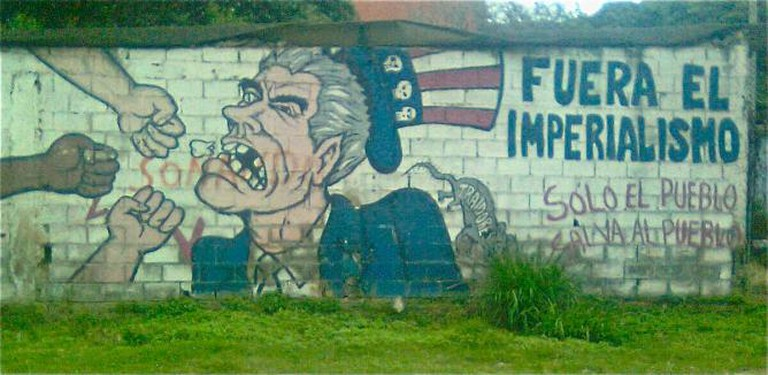 Anti-Imperialist Mural