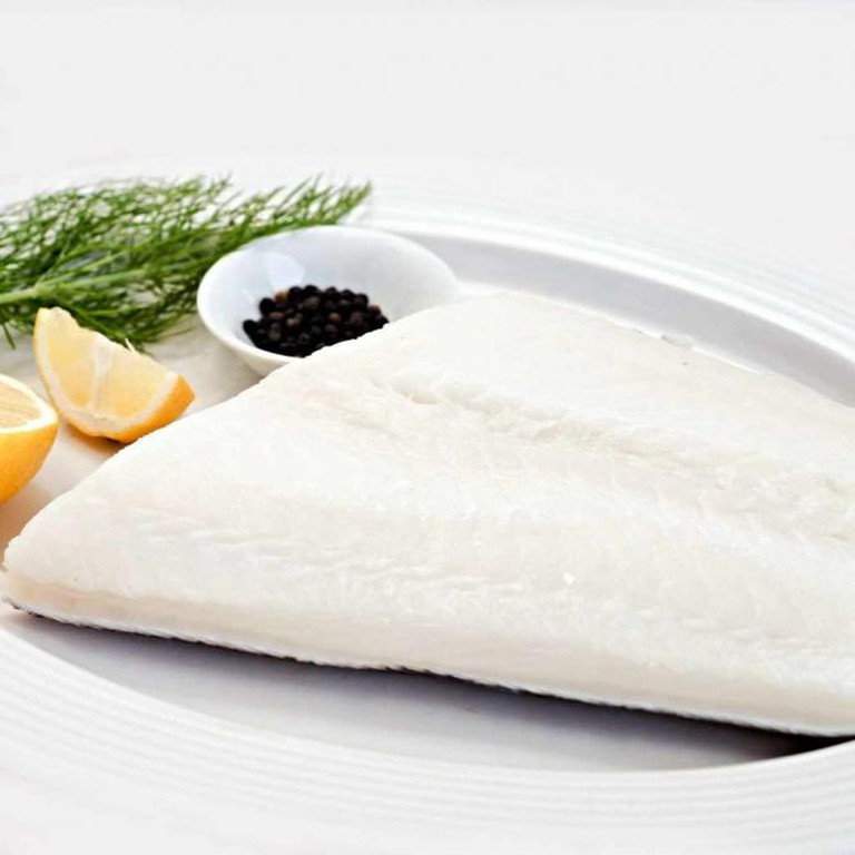 The Chilean sea bass is elegantly served at Rex's Seafood Market.