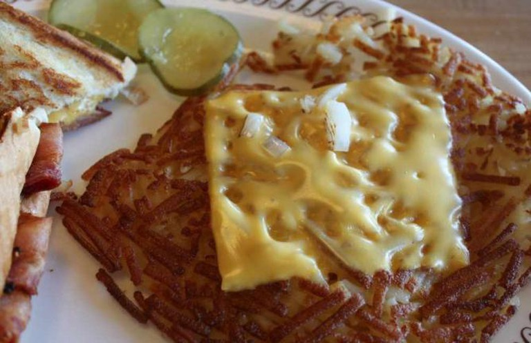 Cheese Hash browns