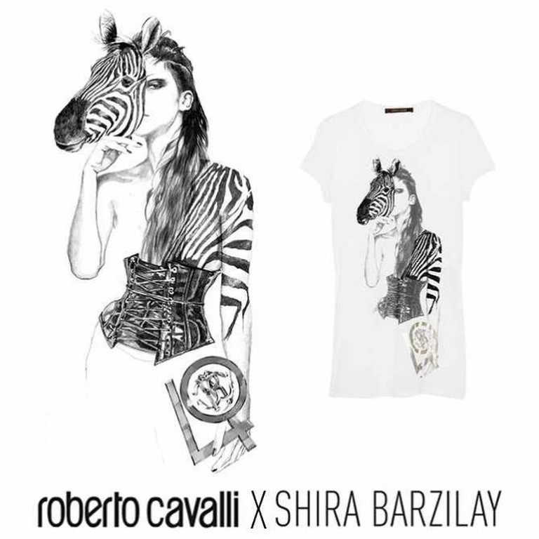 Shira Barzilay X Roberto Cavalli