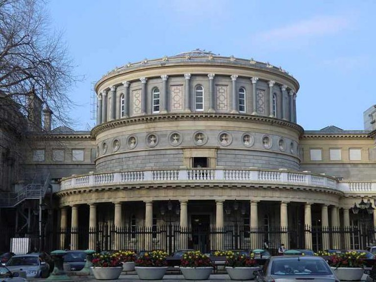 The National Library of Ireland, Dublin