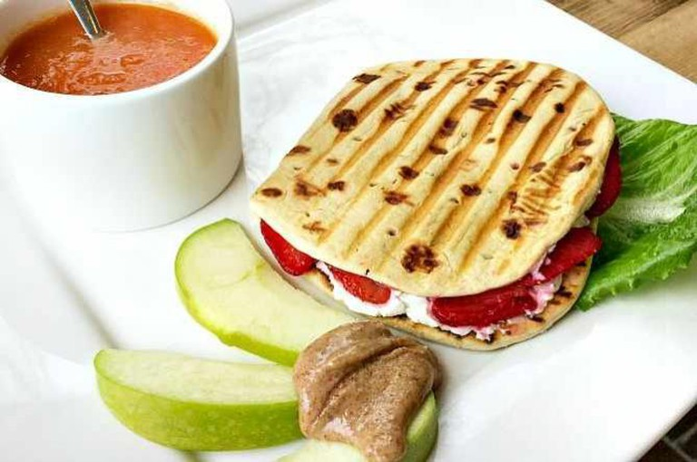 Strawberry & Goat Cheese Panini | © Ralph Daily/Flickr