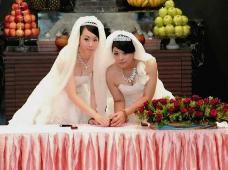 A gay wedding in Taiwan