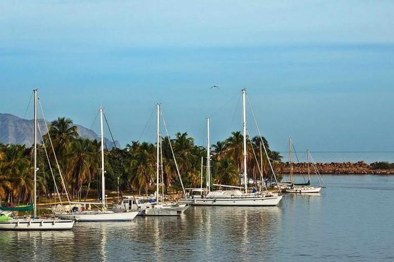 Sailing in Puerto La Cruz