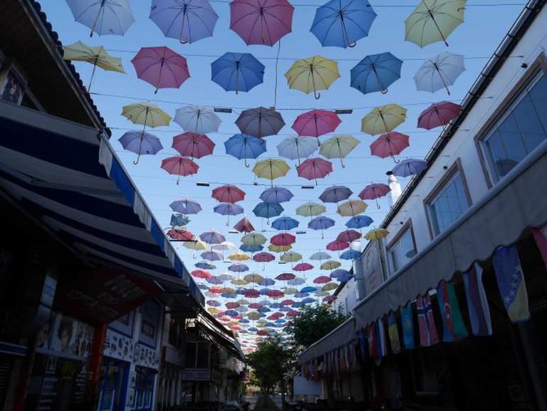 Umbrella Street, Antalya