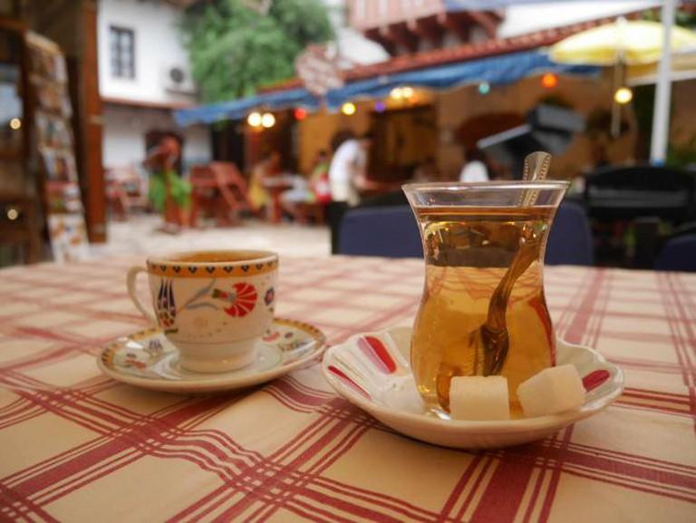 Apple tea, Kaş