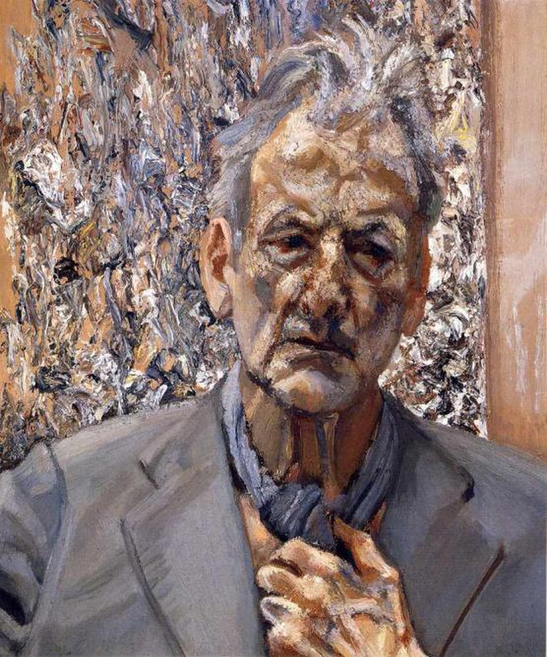 A self-portrait by Freud