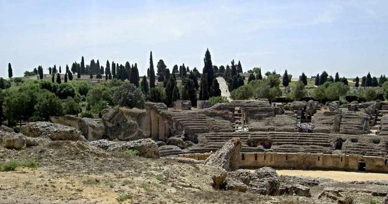 Itálica roman ruins