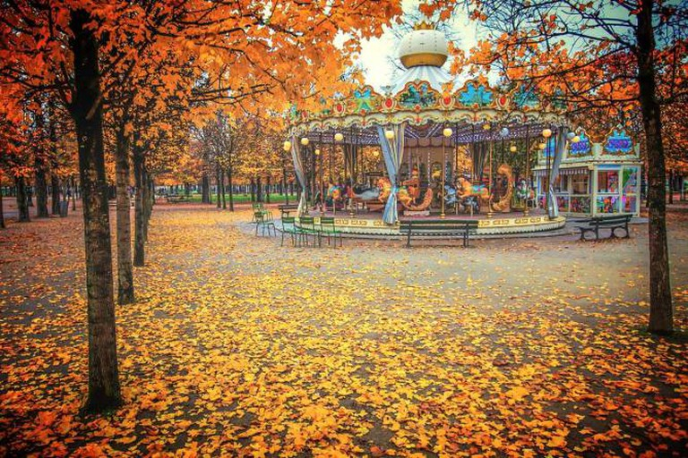 Autumn in Jardin des Tuileries | © Valerii Tkachenko/Flickr