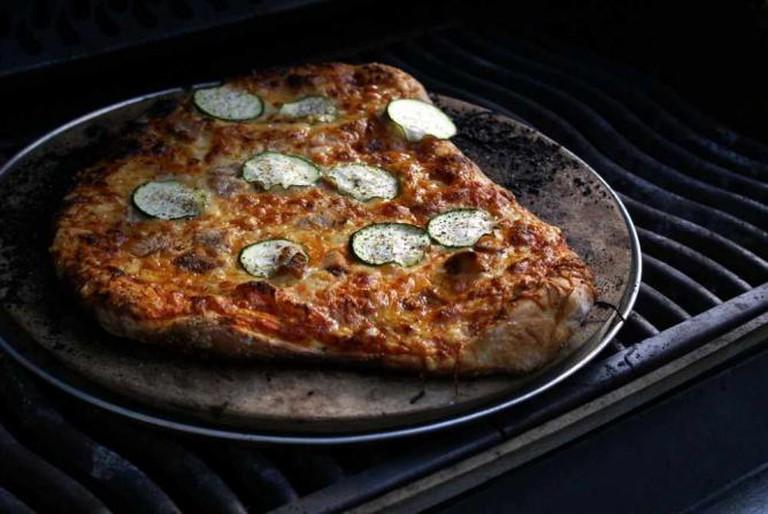 Zucchini pizza | © jacki-dee/Flickr
