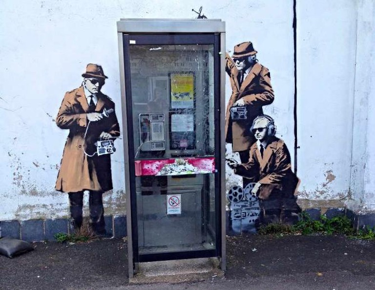 Banksy in Cheltenham © Kathryn Yengel/Flickr