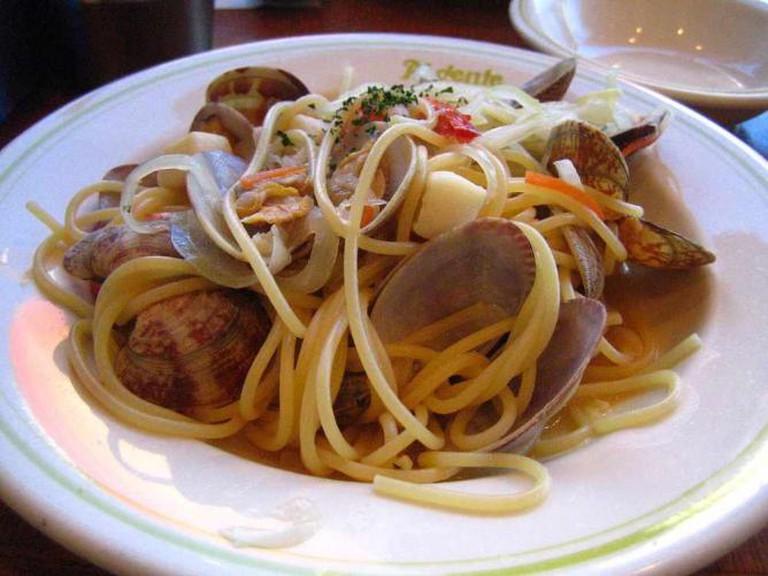 Spaghetti Vongole | © ayustety/WikiCommons