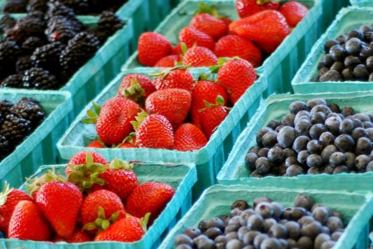 Farmer's market produce | © Rhett Maxwell/Flickr