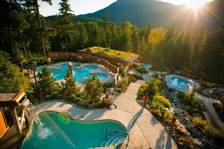 Scandinave Spa summer | Courtesy of Scandinave Spa