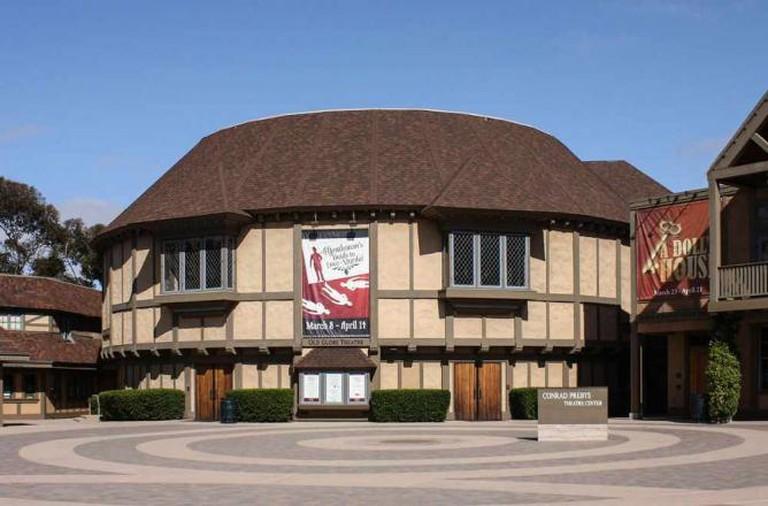 Old Globe Theater, Balboa Park   © Bernard Gagnon/WikiCommons