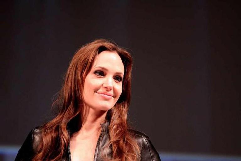 Angelina Jolie in 2010