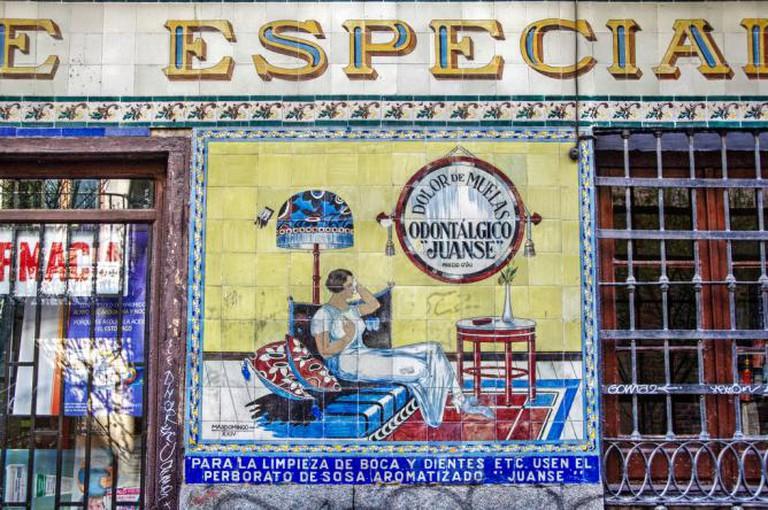 Farmacia Juanse, Malasaña | © Felipe Gabaldón/Flickr