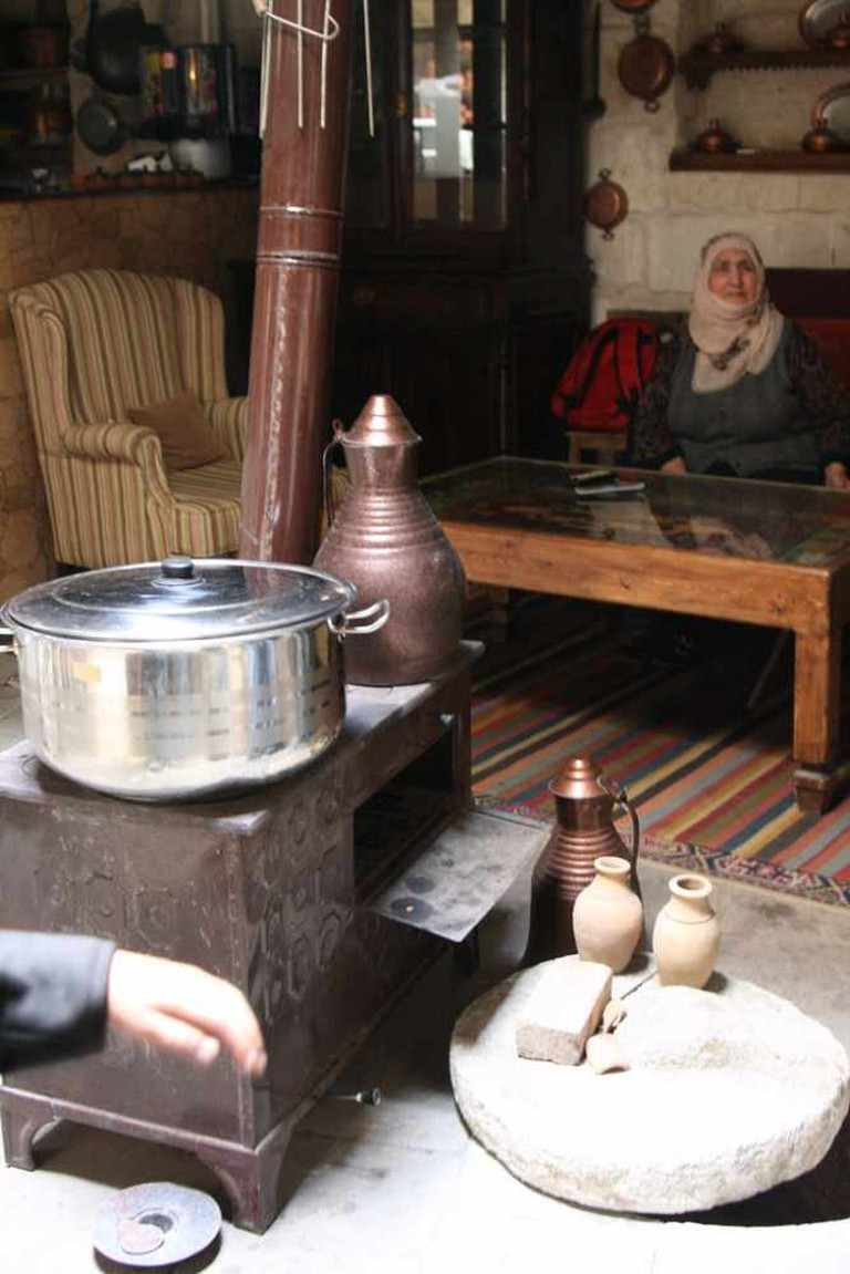 family matriarch at the Dibek