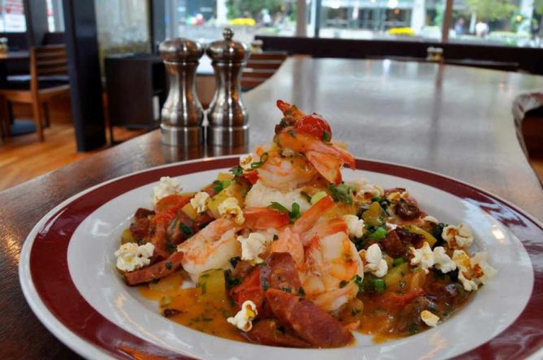 Low Country Shrimp and Grits | © Founding Farmers