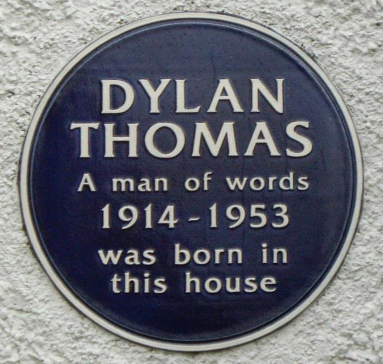 Dylan_Thomas_plaque | © JohnLevin/flickr