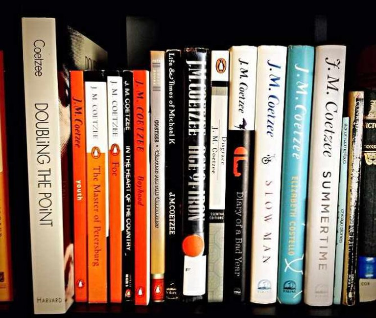 Collection of J.M. Coetzee books | © andessurvivor/Flickr