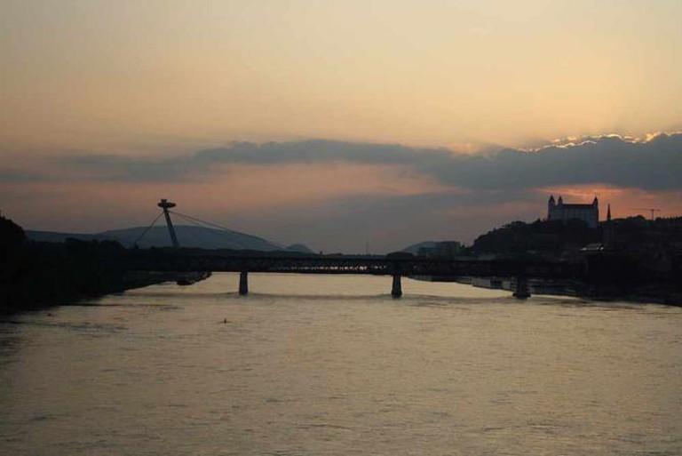Danube in Bratislava | © Frettie/Wikicommons