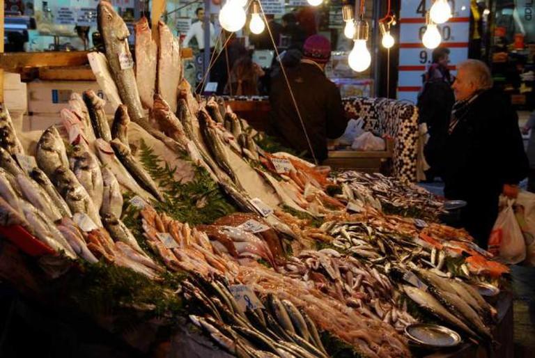 Fish Market, Besiktas, Istanbul | © mattspinner/Flickr