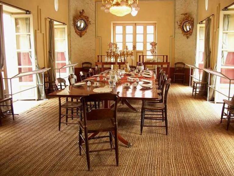 Dining Room at La Casa Quinta de Bolívar| ©Pedro Felipe/Wikimedia