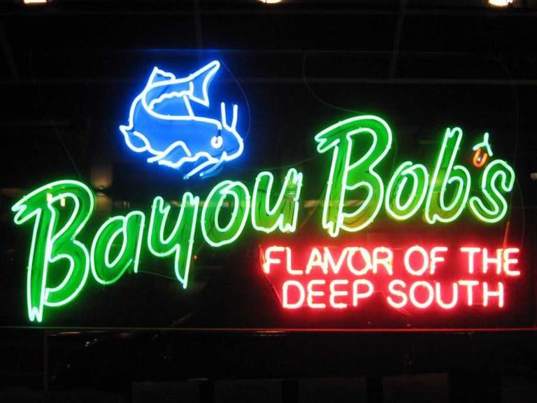 Bayou Bob's Sign