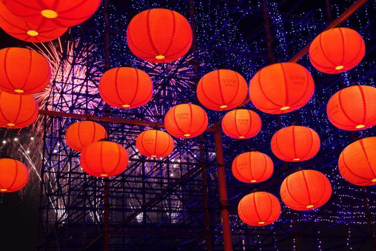 Taiwan Lantern Festival | © Mark Kao/Flickr