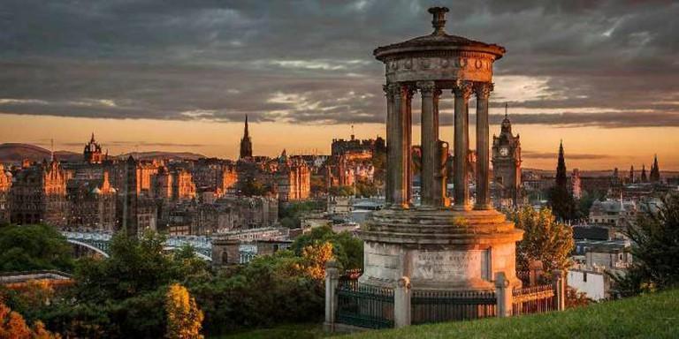 Golden Edinburgh   © Kirsty McWhirter/Flickr