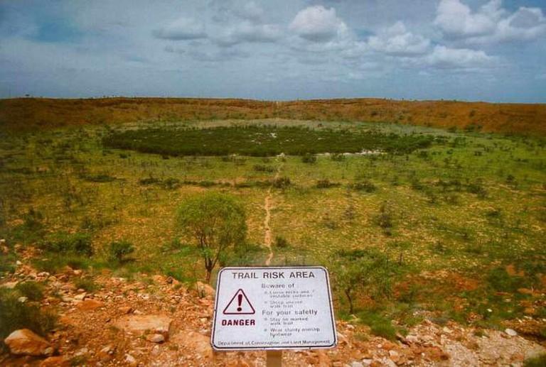 Wolfe Creek Meteor Crater | ©de:Benutzer:Kookaburra/WikiCommons