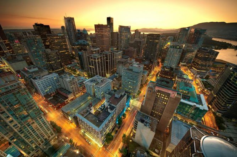 Downtown Vancouver Sunset | © Magnus Larsson/Flickr