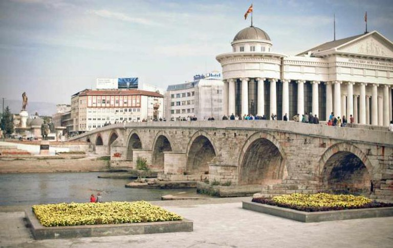 Skopje City Centre | © MarcoFieber/Flickr