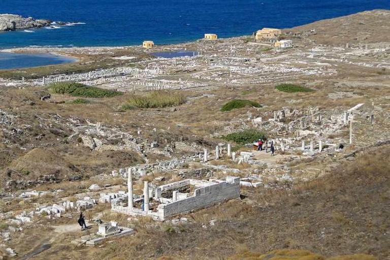 View of Delos