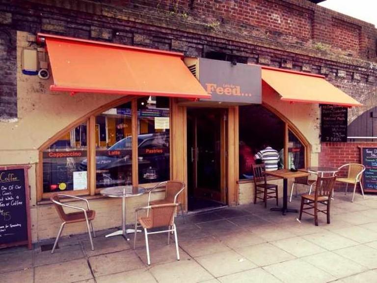 Feed Café Bar, Portsmouth | © http://tigergrowl.wordpress.com