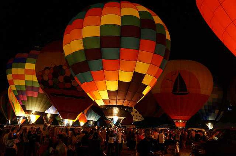 2013 Balloon Glow at Forest Park Forever