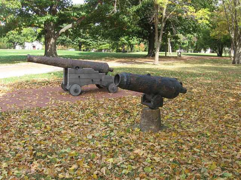 1776 British Canons at Lafayette Park
