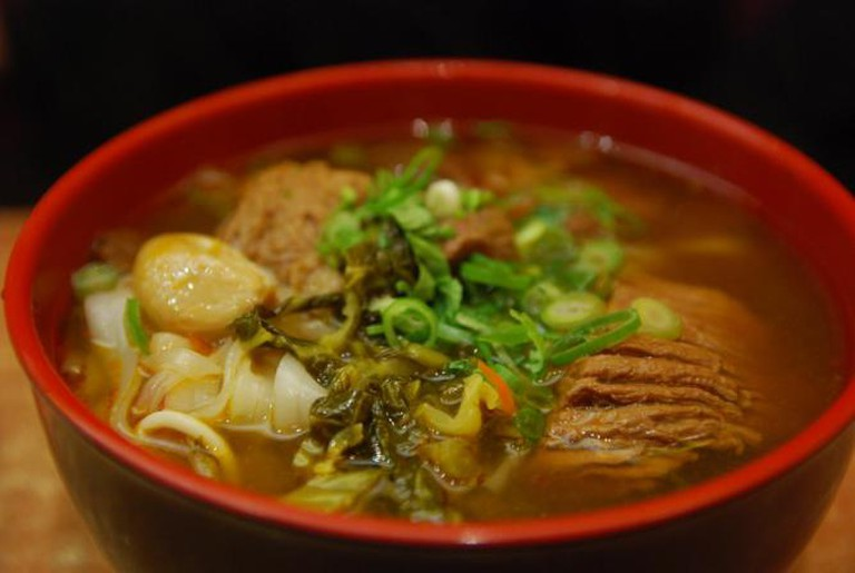Beef noodles, Taiwan | © Alpha/Flickr
