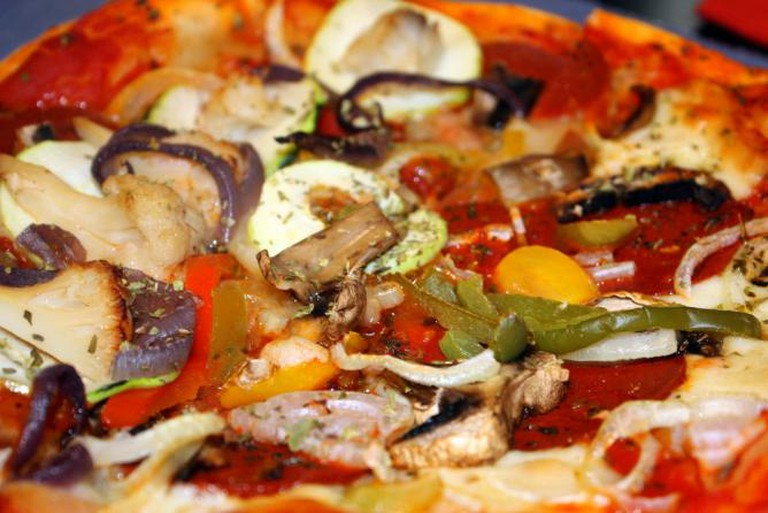 Vegetarian Pizza | © Brocco/Flickr