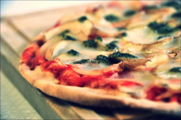 Kartoffel Pizza | © cyclonebill/WikiCommons